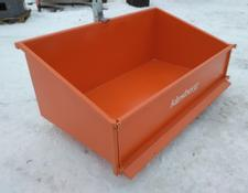 KLESBERG Heckcontainer Laster Kippmulde 1200mm