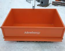 KLESBERG Heckcontainer Laster Kippmulde 1600mm