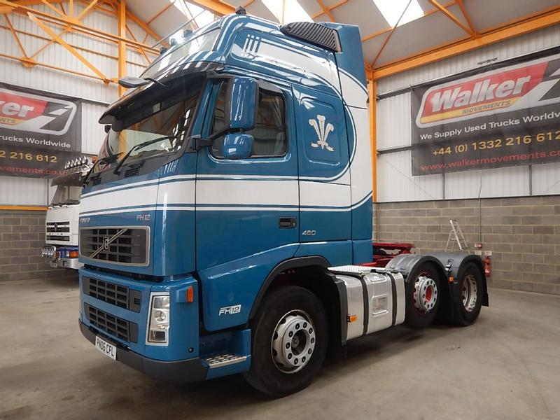 Volvo FH12 GLOLBETROTTER XL 6X2 TRACTOR UNIT - 2006 - PN06 CFL