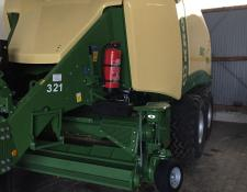 Krone Big Pack 1270 VC 51 Messer Multi Bale