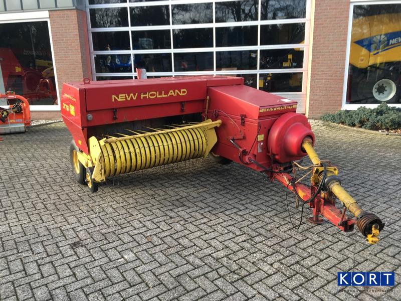New Holland 376