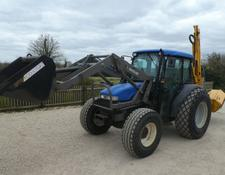 New Holland tn75d 4wd loader tractor