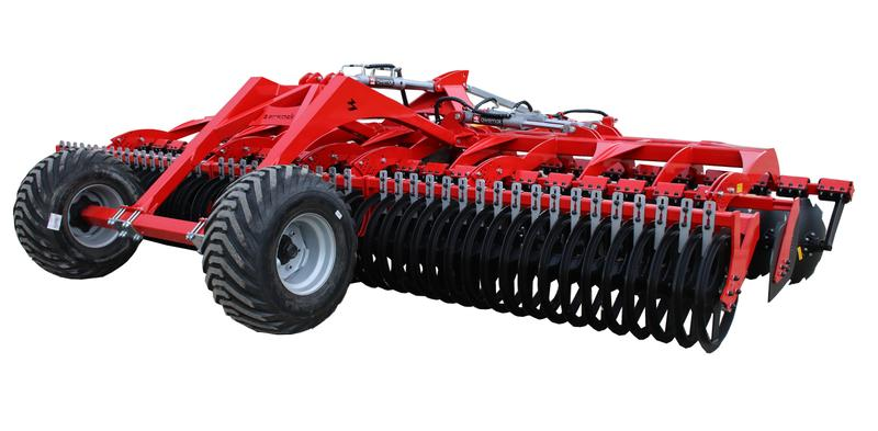 Awemak OZYRYS BTH50 disc harrow with croskill roller and spring pro