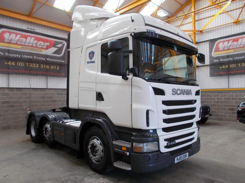 Scania R440 HIGHLINE EURO 5 6 X 2 TRACTOR UNIT - 2010 - PJ10 EOH