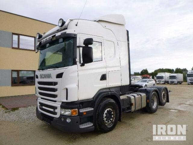 Scania R620 V8 Highline 6x2