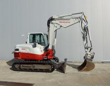 Takeuchi TB290 Powertilt MS08 Verstellausleger ZSA