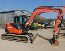 Kubota kx080 4 tracked digger 2015 done 3238 hours