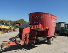 Kuhn euro mix 1 tub mixer with new auger