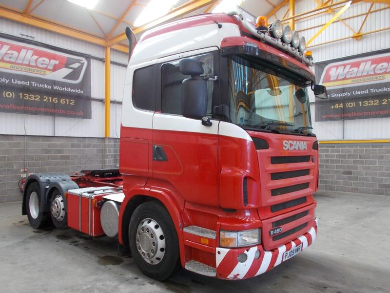Scania R480 HIGHLINE 6 X 2 TRACTOR UNIT - 2009 - PJ09 NWR